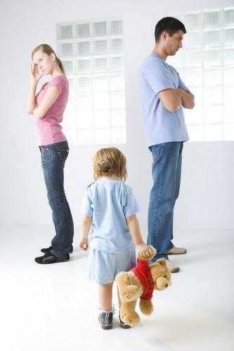 """Cómo decir a los hijos: """"nos divorciamos""""."""